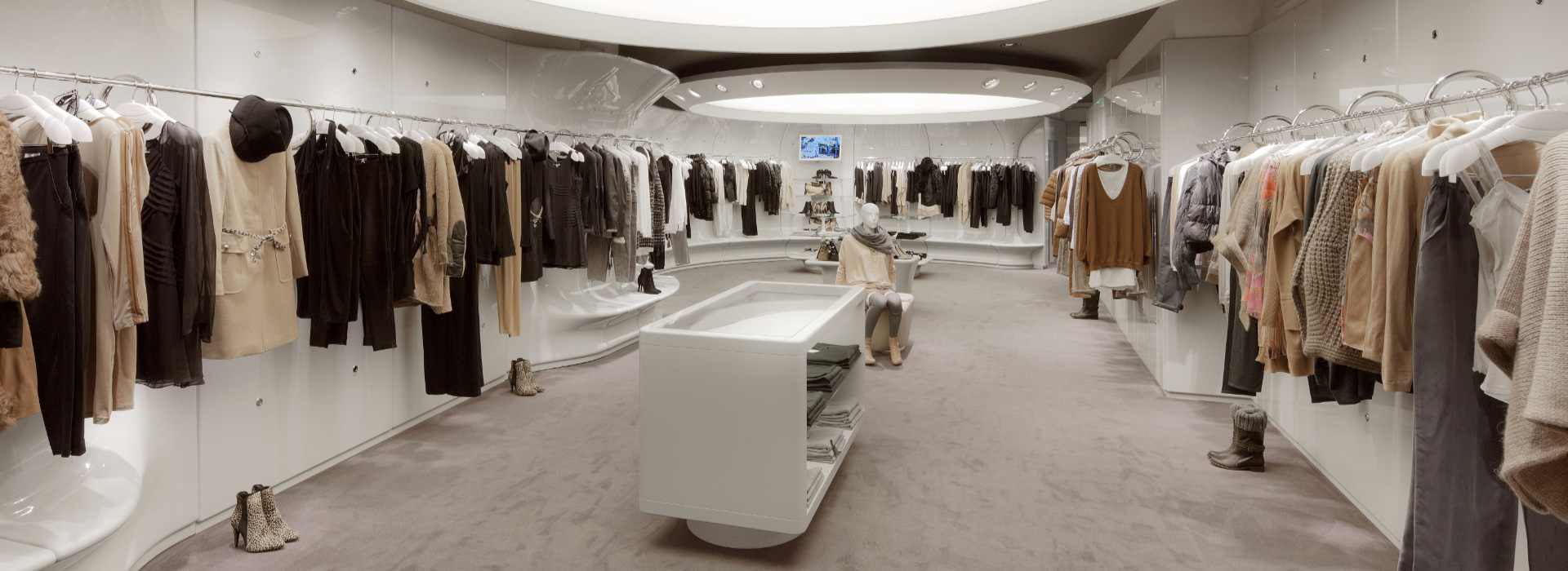 Fashion Shops Interior Design Solutions HCSdesign