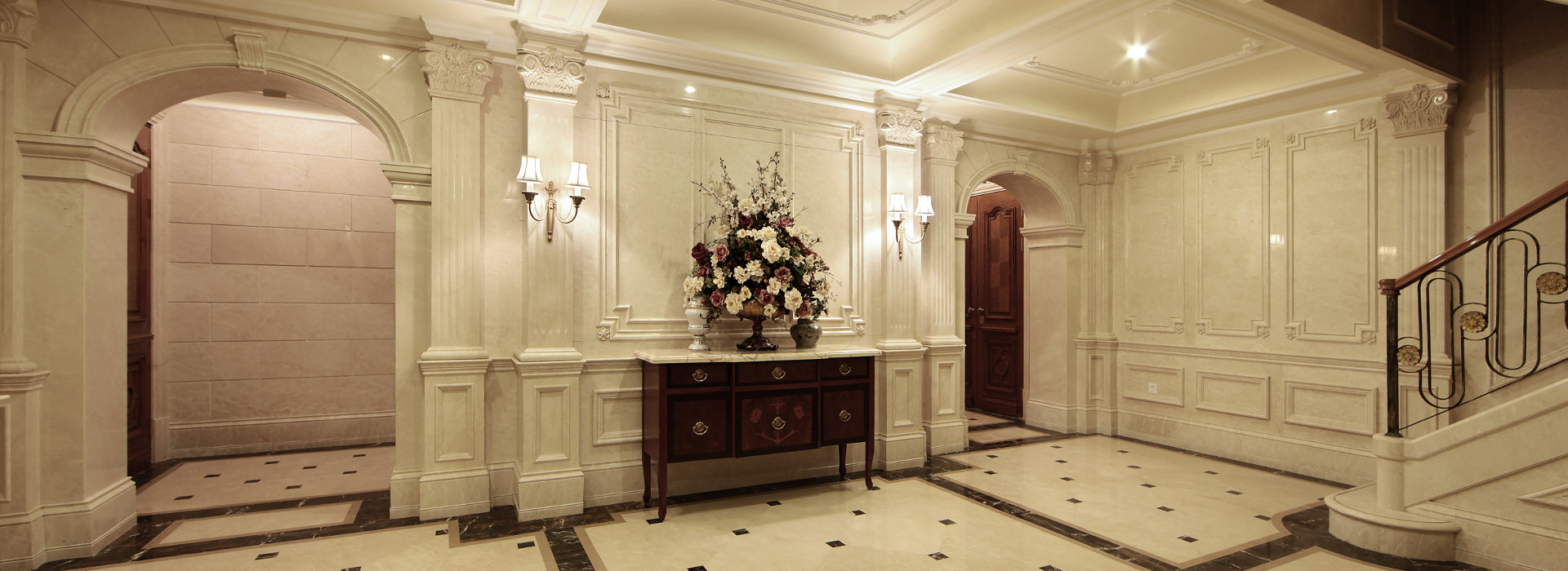 Marble Works for Luxury Interiors